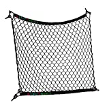 AikeSweet flexibel schwarz Nylon Hintere Lade Organizer Auto-Kofferraum-Lagerung Gepäck-Net