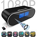 Lionsoul Spy Camera, 1080P HD WiFi Hidden Cameras in Clock +16G TF Card for Home Security (Color: Spy Camera)
