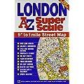 London Super Scale Map (A-Z Street Atlas)