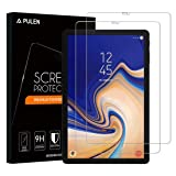 [2-Pack] Samsung Galaxy Tab S4 Screen Protector, PULEN 0.3MM Slim And 9H Hardness Tempered Glass Film [Ultra Clear] [Anti-Scratch] [Bubble Free] [Anti-fingerprint] for Galaxy Tab S4 Tablet (10.5 Inch) (Color: Clear)