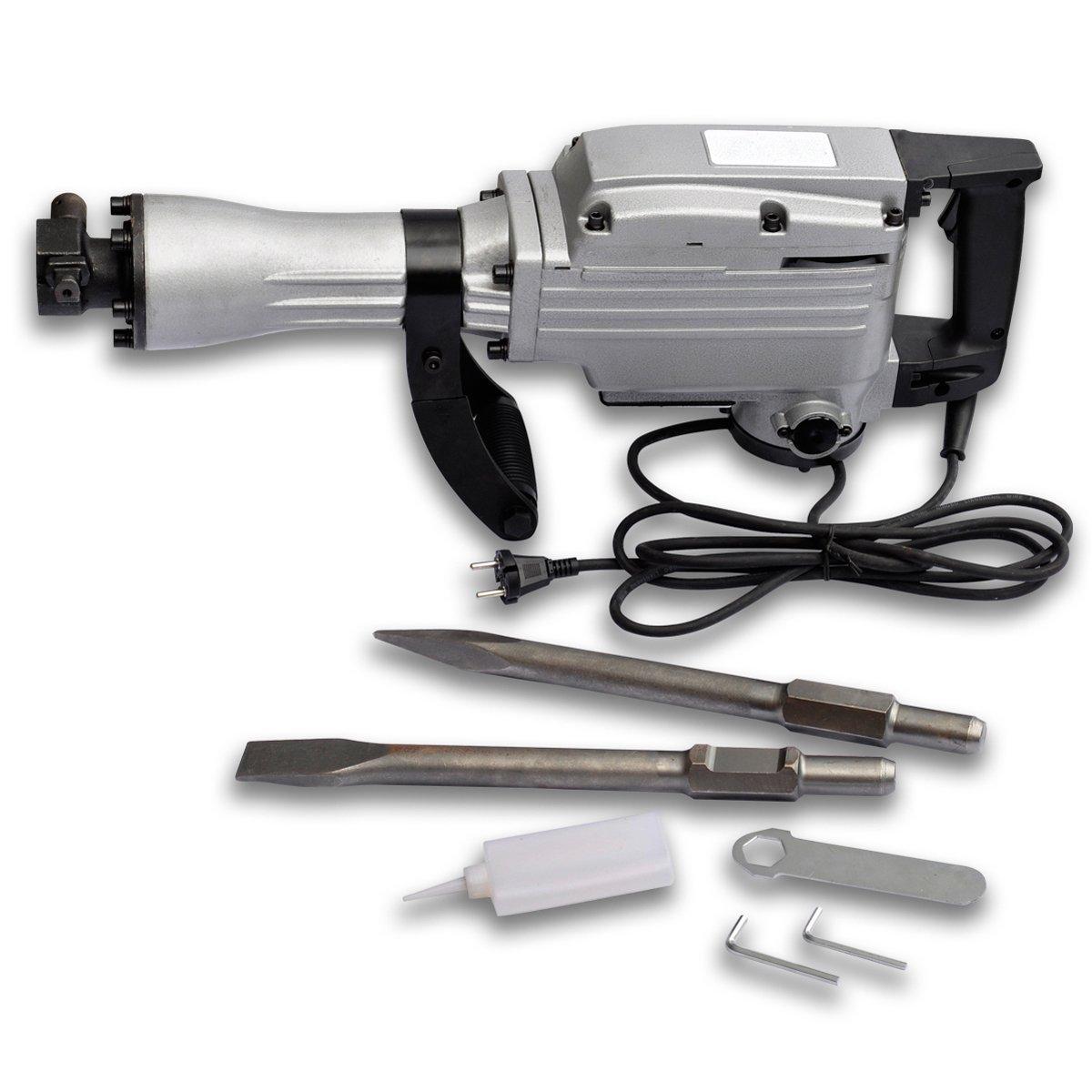 Abbruchhammer Schlaghammer Meißelhammer Stemmhammer Hammer 1600 Watt Schlagzahl 1400 U/min  BaumarktRezension