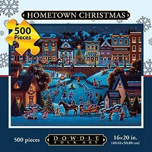 Dowdle Hometown Christmas 500 Piece Puzzle