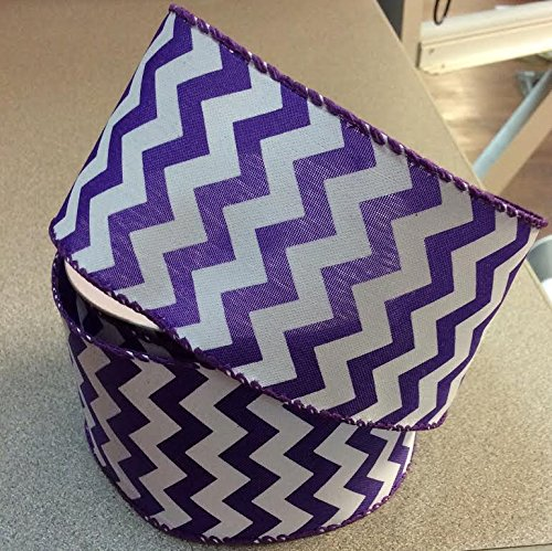 Chevron Classic Purple 2.5 in x 10 yards