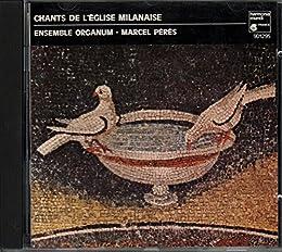 Chants De L'Eglise Milanaise [Import anglais]