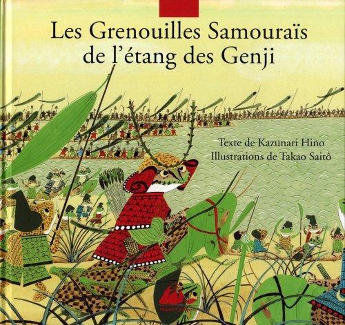 Les grenouilles samouraïs de l'étang de Gengi