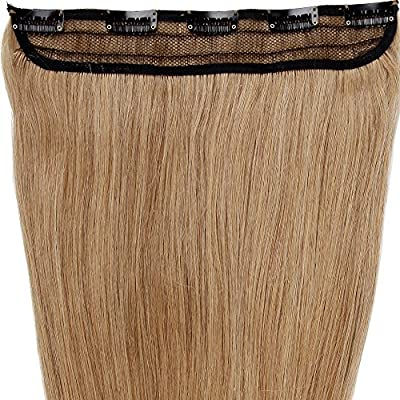 """S-noilite® 18""""-22"""" One Piece Clip in 100% Real Remy Human Hair Extensions 5 Clips"""