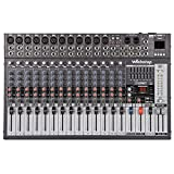 Webetop EM16 16 Channel 16 DSP Professional Audio Mixer with USB