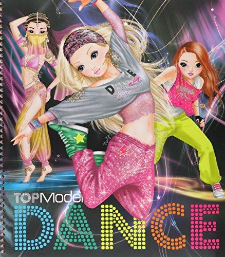 Depesche - Top Model dance, cuaderno de pegatinas