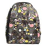 FAMI Fashion pa�ales para beb� mochila Tote Bolsas gran capacidad beb� pa�al bolsa momia bolsa botella de enviar bolsa y monedero (Negro)