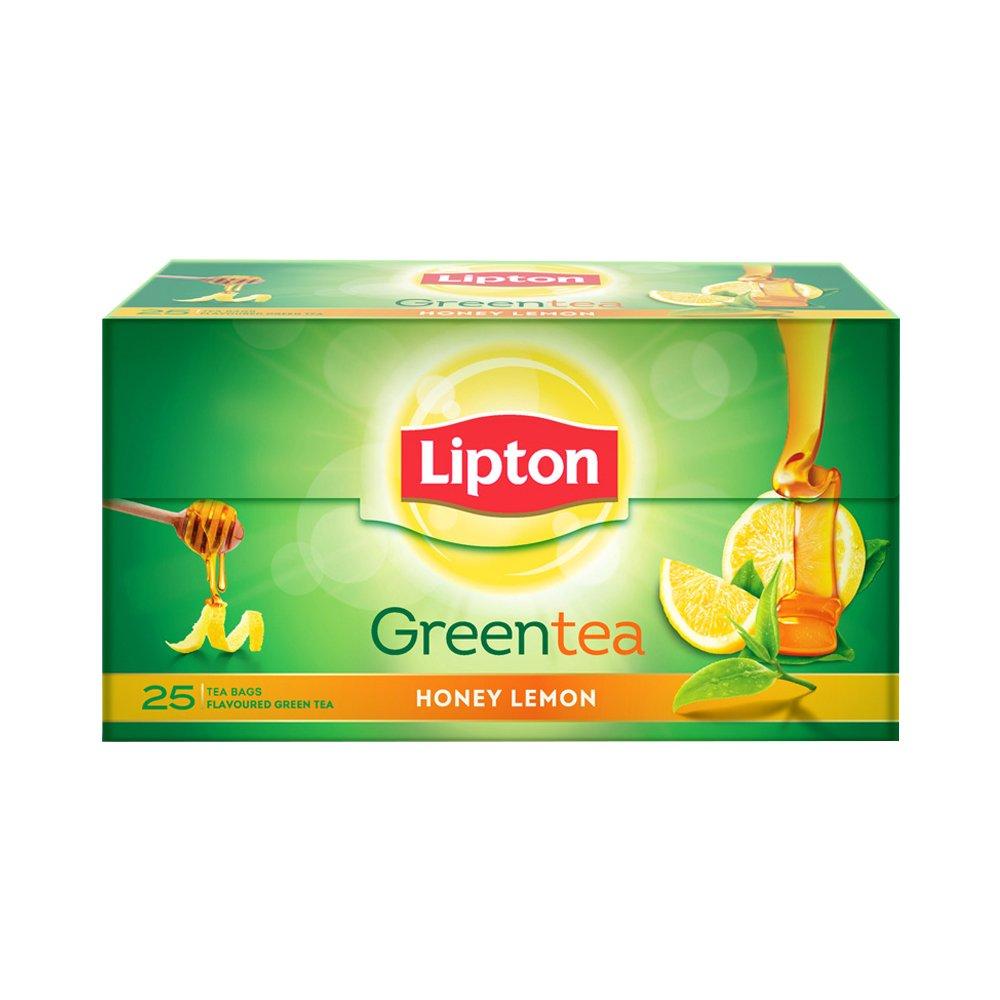 Lipton Honey Lemon Green Tea Bags, 25 pieces By Amazon @ Rs.105
