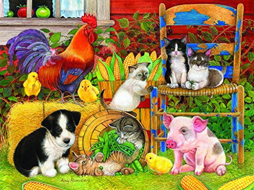 Farm Friends - 300 Piece Jigsaw Puzzle By SunsOut Inc.