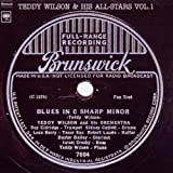 Teddy Wilson and His All Stars V.1 ~ Teddy Wilson