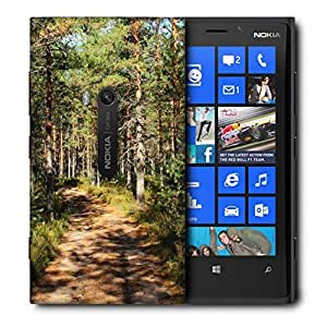 Snoogg Small Abstract Road Printed Protective Phone Back Case Cover For Nokia Lumia 920