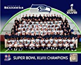 "Seattle Seahawks Super Bowl XLVIII Formal Team Photo (Size: 8"" x 10"") at Amazon.com"