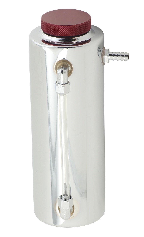 """2x17/"""" stainless radiator over flow tank reservoir radiator spit puke tank bottle"""