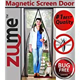 Magnetic Screen Door-Zume Offers Highest Quality Easy to Install Door Screens with Magnets-size 40