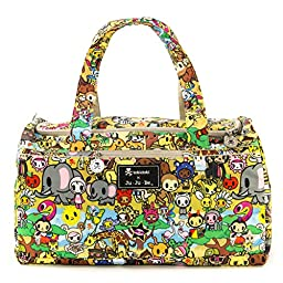 Ju-Ju-Be Tokidoki Collection Super Star Large Travel Duffel Bag, Animalini