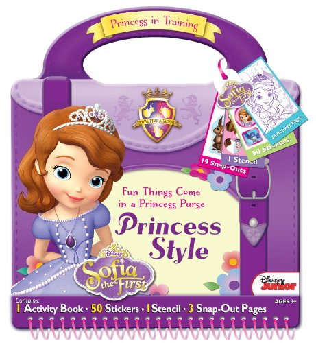 Bendon Disney Sofia The First Style Activity Purse