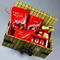 Lindt Easter Gift Box - Gold Bunny, Lindor Truffles and Eggs - By Moreton Gifts