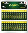 Perfpower Go Green, Aaa Alkaline Battery, 48-Pack, 48-Count