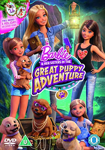 Barbie & Her Sisters in The Great Puppy Adventure (Includes Puppy Decorations) [DVD] [2015]