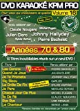 echange, troc DVD Karaoké KPM Pro Vol.16 ''Années 70 & 80''