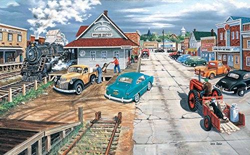 SunsOut Tracking Memories 300 Piece Jigsaw Puzzle