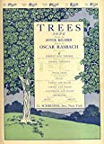 Trees: Song (Recital Version - Piano Only)