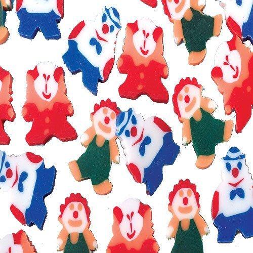 Mini Clown Erasers - 1