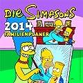 Die Simpsons Familienplaner 2014