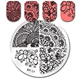 Summer Fruit Nail Art Stamping Template Tropical Punch Pattern Rectangle Image Plate Stamping Polish Needed BP-17 (Color: BP-17)