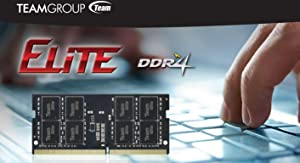 TEAMGROUP Elite DDR4 16GB Kit (2 x 8GB) 2666MHz PC4-21300 CL19 Unbuffered Non-ECC 1.2V SODIMM 260-Pin Laptop Notebook PC Computer Memory Module Ram Upgrade - TED416G2666C19DC-S01-16GB Kit (2 x 8GB) (Tamaño: 16GB Kit (8GBx2))