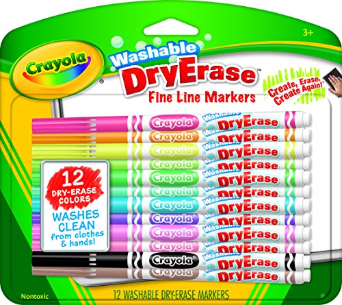 Washable Dry-Erase Markers