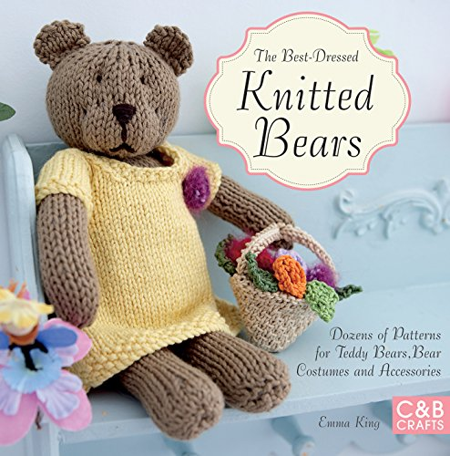 Knitted Heart Pattern Free : Easy Teddies to Knit: Knitted teddy bears to get your paws on - Fai da te e a...