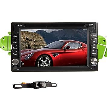 USB Jefe Unidad A9 CPU Dual Android / SD 4,2 6,2 pulgadas d'šŠcran 2 Din capacitiva Automotriz tš¢ctil en el tablero de DVD del coche del jugador Logo copia Con 3G navegaciš®n 3D GPS MP3 iPod Bluetooth WiFi estš