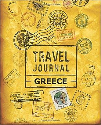 Travel Journal Greece written by VPjournals