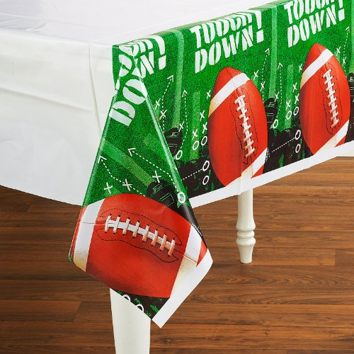 Football Frenzy Plastic Tablecovers Value Pack