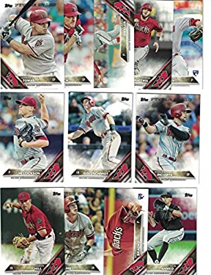 Arizona Diamondbacks / Complete 2016 Topps Series 1 Baseball Team Set. FREE 2015 Topps Diamondbacks Team Set WITH PURCHASE!