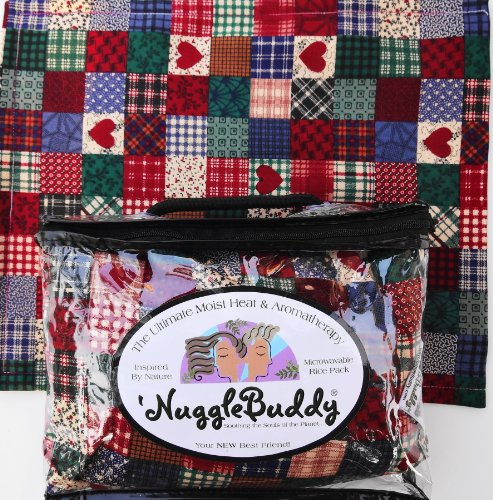 "'Nugglebuddy Moist Heat & Aromatherapy Organic Rice Pack For Microwave. ""Patchwork"" Fabric With ""Sweet Lavender"" Aromatherapy. Great Gift Idea! See Many Other 'Nugglebuddy Selections By Searching For Nugglebuddy Under ""All Departments."""