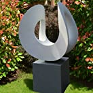 Large Garden Sculptures - Orchid Limited Edition Contemporary Abstract Statue