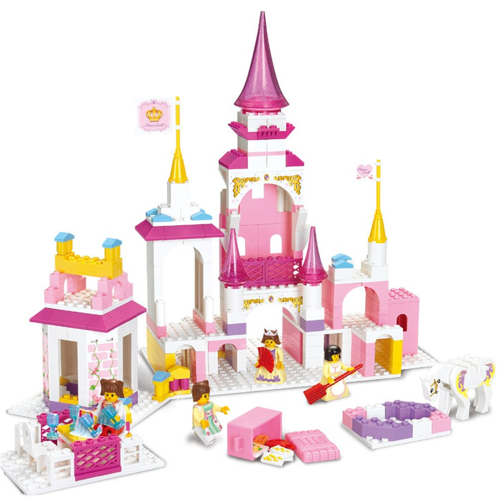 Holy Stone Sluban Magical Castle Model Toy 385 Pieces Building Block Set