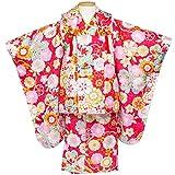 (キョウエツ) KYOETSU 七五三 3歳 着物 女の子 被布セット フルセット 友禅 (G)