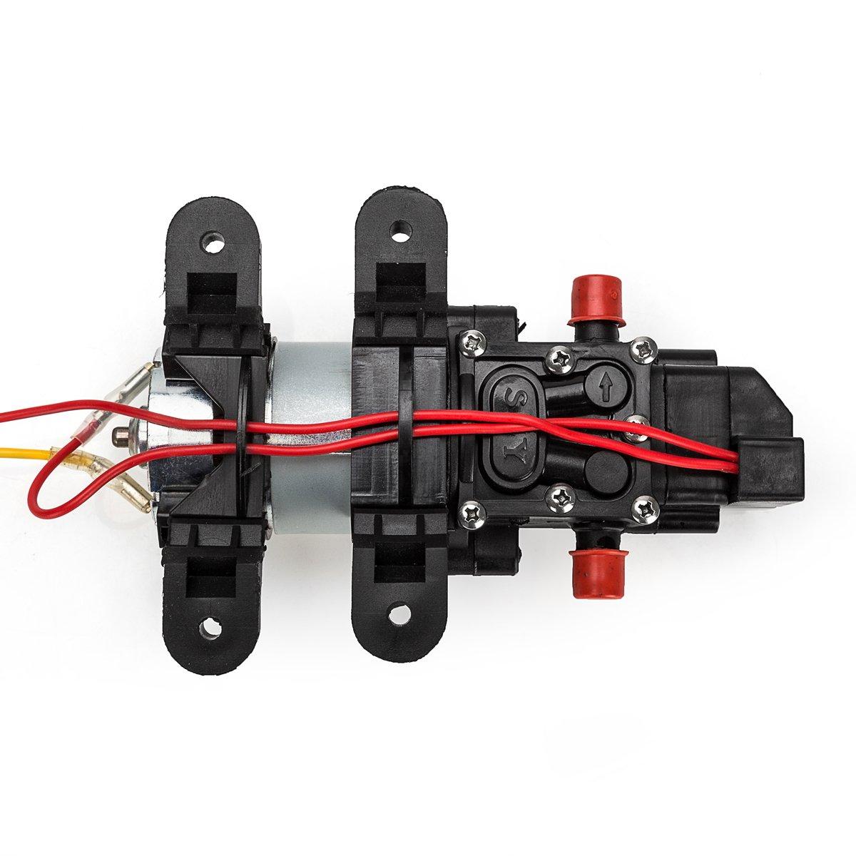 [Update]Favson Diaphragm Pump DC 12V Fresh Water Pump 4.0 L/min 100 PSI Self Priming Pressure Pump