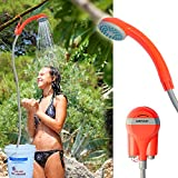Portable Shower Battery Powered Rechargeable Handheld Mobile Personal Pet Camping Hiking Outdoor Indoor Travel