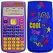 Citizen SR-270X LOL Calculatrice Scientifique Sp�ciale Coll�ge Collector Bleu/Violet