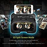 3D-VR-Glasses-AmiCool-3D-Virtual-Reality-Headset-Adjust-Cardboard-Video-Movie-Game-Box-for-Apple-iPhone-6-6S-Plus-5S-SE-5-and-More-Smartphones-Black
