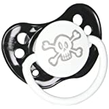 Personalized Pacifier - Skull - Black (Color: Skull)