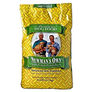 Newmans Own Organic Advance Dry Dog Food 12.5lb by Newman's Own Organics [Beauty] (English Manual)