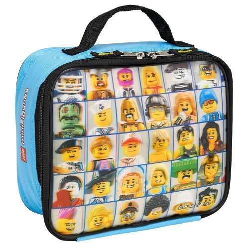 "LEGO ""Mini Figure"" Lenticular Rectangular Soft Lunch Box - 1"