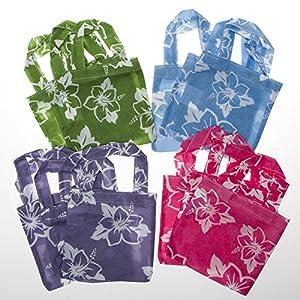 Mini Hibiscus Tote Bags